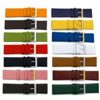 Fine Calf Leather Watch Strap Band 14 Colours Xtra Wide 22mm 24mm 26mm 28mm 30mm